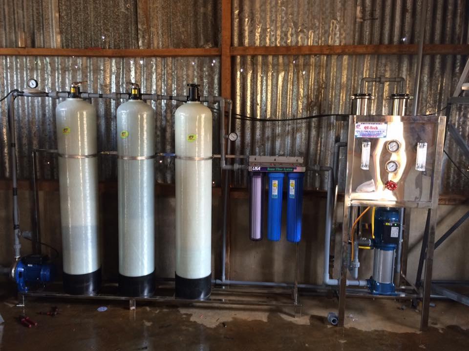Hệ thống lọc nước đóng bình 700 lít/giờ